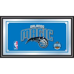 NBA Orlando Magic Framed Logo Mirror ** Read more reviews of the product by visiting the link on the image.