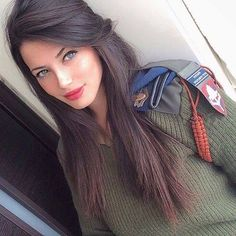 In my next life I want to be born Jewish and in Israel. Are all Israeli girls this beautiful? She's exquisite and lethal. Israelis are interesting indeed. They are a melting pot of cultures. There are hundreds of stunning IDF women. Make no mistake about it. They are extremely well trained and they will put a bullet in you without chipping a nail. They know all too well that there are 6 terrorist countries around them that want to kidnap and swap them for prisoners.
