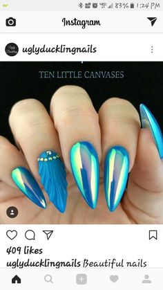 love the colors, but not a fan of long nails on myself. https://www.facebook.com/shorthaircutstyles/posts/1759778894312550