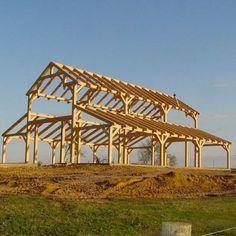 New Timber Frame Barn Homes