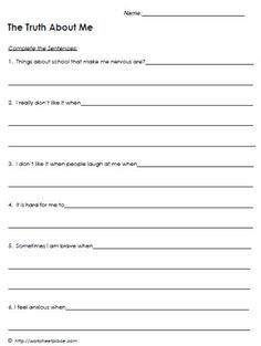 Free cognitive behavioural therapy (CBT) worksheets, and self-help ...