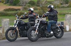 Sind das Zwillinge? ? Vergleich Harley-Davidson Street Bob vs. Sportster XL 1200CB