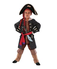 Love this Adventure Factory Pirate Captain Dress-Up Set - Boys by Adventure Factory on #zulily! #zulilyfinds