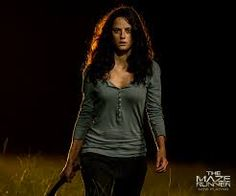 "This is Kaya Scodelario as ""Teresa"" in the movie ""The Maze Runner"". He is my favorite character in the movie not because she a girl, because she is way different from other girls. She will fight if she had to and she will do everything to protect Thomas since they're close and Chuck because he is so young. She was the very first girl to be in the maze with all boys."