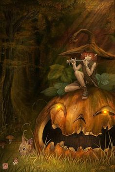 pixie and pumpkin