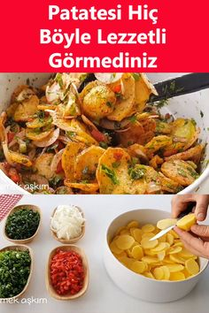 Turkish Salad, Food Platters, Chicken Wings, Side Dishes, Salads, Brunch, Food And Drink, Cooking Recipes, Potatoes