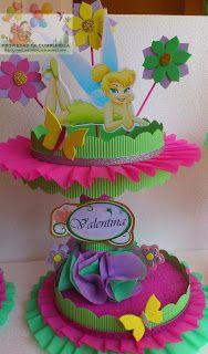 DECORACIONES INFANTILES: octubre 2012 Birthday Party Decorations Diy, Birthday Centerpieces, Party Themes, Birthday Parties, Party Ideas, Tinkerbell Party Theme, Peter Pan And Tinkerbell, Butterfly Birthday, Bear Party