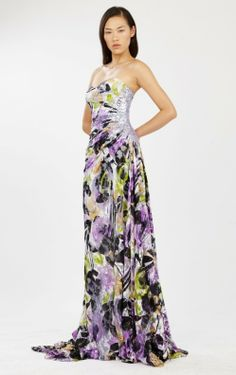 Аbed Мahfouz Ready-to-Wear Spring/Summer 2013-2014 Colletion .maxi dress #kathyna257892 #style for women #womenfashion.www.2dayslook.com