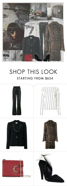 """""""Attention"""" by lablanchenoire ❤ liked on Polyvore featuring Vanity Fair, Thierry Mugler, Gerber, Y/Project and Calvin Klein 205W39NYC"""