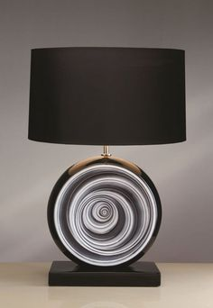 14 best novelty table lamps images on pinterest luxury lighting the luis black swirl table lamp by elstead lighting is available from luxury lighting the aloadofball Image collections