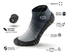 SKINNERS 2.0 Hybrid footwear for sports & travels | Indiegogo Better Posture, Sport Shorts, Shoe Closet, Your Shoes, Barefoot, Squats, Footwear, Pairs, Unisex