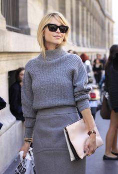 grey. Modern style fashion