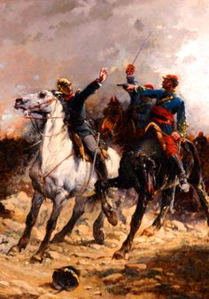 Death of a Prussian officer, Franco-Prussian War