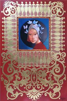 Merab Gagiladze  -  Aura Frame, Artist, Inspiration, Picture Frame, Biblical Inspiration, Artists, Frames, Inspirational, Inhalation