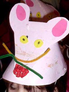 fabriquer un chapeau de souris en petite section