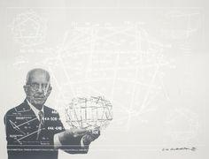 Buckminster Fuller, geodesic dome.