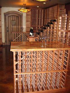 #Wine Cellar Table