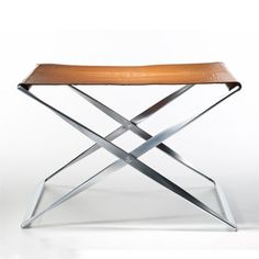 PK91 Stool | designed by Poul Kjaerholm, the PK91 Stool takes inspiration from Kaare Klint's designs | for Fritz Hansen