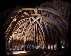 French timber frame roof