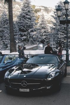 Winter Luxury Land- Mercedes