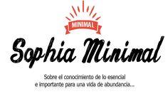 ¡Ya somos Página Web! El blog creció: Sophiaminimal.com