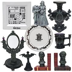First Look at New Haunted Mansion Merchandise Appearing This Fall at Disney Parks