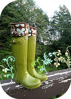 CIJ Sale SLUGS Fleece Rain Boot Liners Brown with a by WithTheRain, $24.00