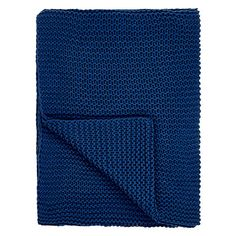 Buy John Lewis Chunky Knit Throw Online at johnlewis.com