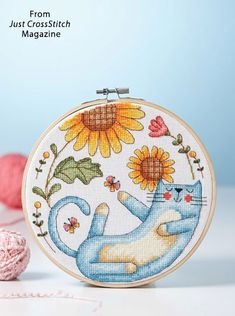 This project is featured in May/June 2018 Just CrossStitch magazine.