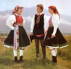 FolkCostume&Embroidery: Slovenian / Austrian Costume of Ziljska Dolina or Gailtal, Carinthia, Austria Folklore, Austria, Wachau Valley, German Folk, Crazy Costumes, Carinthia, White Linen Shirt, Folk Clothing, Black Costume
