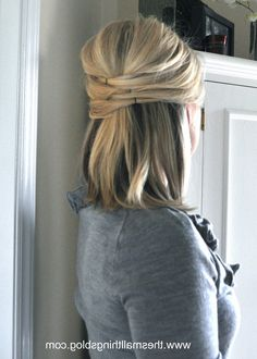 Wedding Hair Half Up Half Down Short Hair 1142 X 1600 Wedding Hairstyles Half Up Half Down Straight Fashion Trend