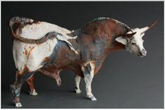 Bull by Ostinelli and Priest Ceramics.