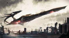 Spaceships by Thibault Girard