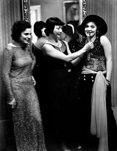 Leni Riefenstahl, Anna May Wong and Marlene Dietrich at Pierre Ball. by Alfred Eisenstaedt, Berlin, 1928