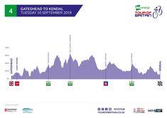 Tour of Britain 2019 Tour Of Britain, British, Tours, Map, Location Map, Maps