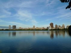 Dreamy Central Park lake...