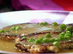 Receita de Paillard de Frango ao Molho Curry Food Network