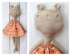 Elitsa Sarbinova's handmade toys via Kickcan & Conkers