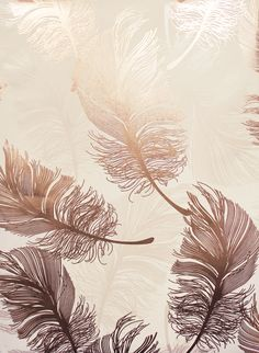 Rose gold phone wallpaper with top decowunder wallpapers non woven textile Rose Gold Bedroom Wallpaper, Gold Wallpaper Phone, Feather Wallpaper, Metallic Wallpaper, Luxury Wallpaper, Wall Wallpaper, Wallpaper Backgrounds, Gold Foil Background, Gold Wallpaper Background