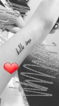 Tattoo Words For Girls 71. BELLE AME   Tattoo...