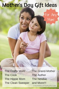 Mother's Day Gift Ideas for Any Mom!    GrowingUpTriplets.com  #mothersday #giftguide