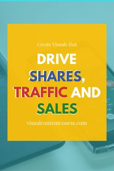 Learn how to make great visuals which get results.