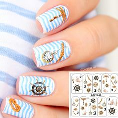 $1.19 1 Sheet Water Decals Full Stikers Fantasy Colorful Flower Print Full Nail Art Water Decals - BornPrettyStore.com