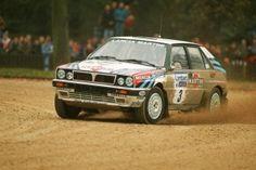 Juha Kankkunen su Martini Lancia Delta HF Integrale 16v, RAC Rally di Gran Bretagna 1991