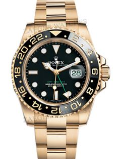 ZAEGER - Rolex GMT Master II 18k Yellow Gold Black Index Dial 116718,  (http://www.zaeger.com.au/all-watches/rolex-gmt-master-ii-18k-yellow-gold-black-index-dial-116718/)