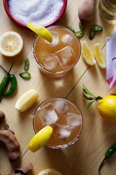 Spicy Tamarindo y Tequila Cocktail