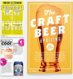 Drink Magazine by Jeremy Perez-Cruz, via Behance