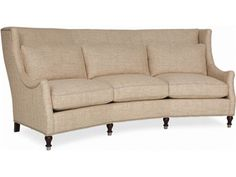Shop for CR Laine Gaston Wedge Sofa, 2180, and other Living Room Sofas at Elite Interiors in Myrtle Beach, SC. The seamless incorporation of fashion and utility makes this sofa an imperative addition. The inclusion of this sofa effortlessly provides exceptional style and adaptability.