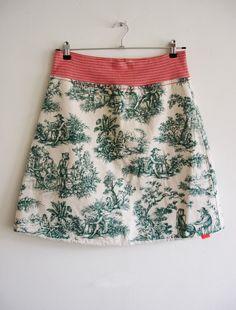 Historic Skirt by Zarch on Etsy, €55.00