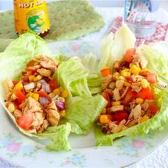 Dat'I Do-It Chicken Lettuce Wraps. 180 calories for 2 wraps! - I have made this for Dinner its Delicious!